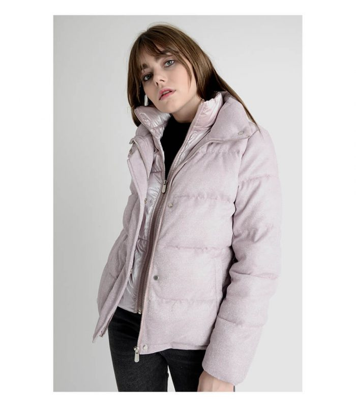 clairval-glossy-pastel-doudoune-femme-rose